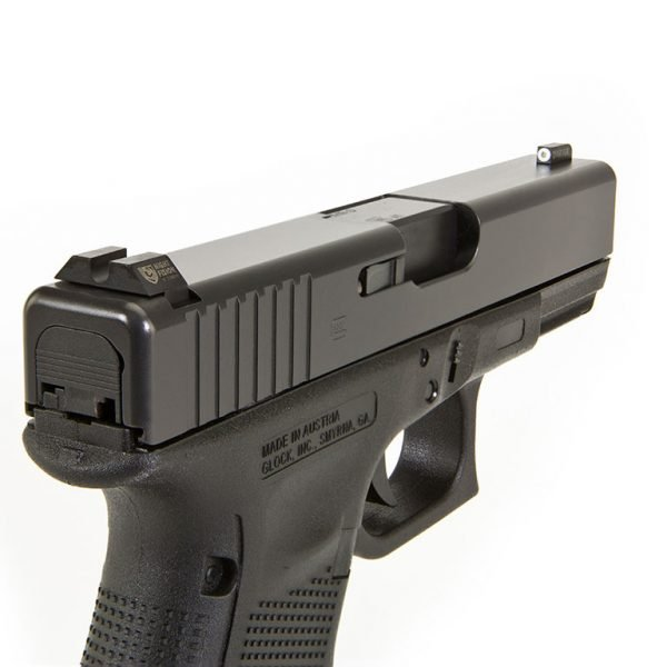 NIGHT FISION PERFECT DOT TRITIUM NIGHT SIGHTS FOR GLOCK