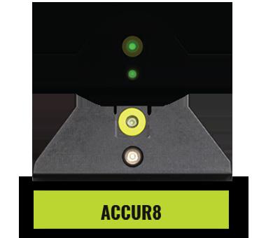 Glock Accur8 Night Sights