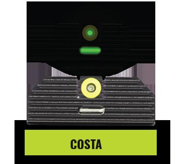Glock Costa Ludus Optics Sights