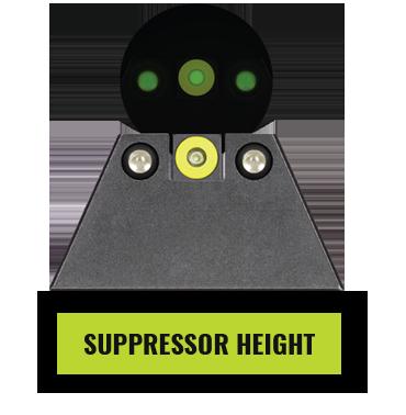 Glock Suppressor Height Sights
